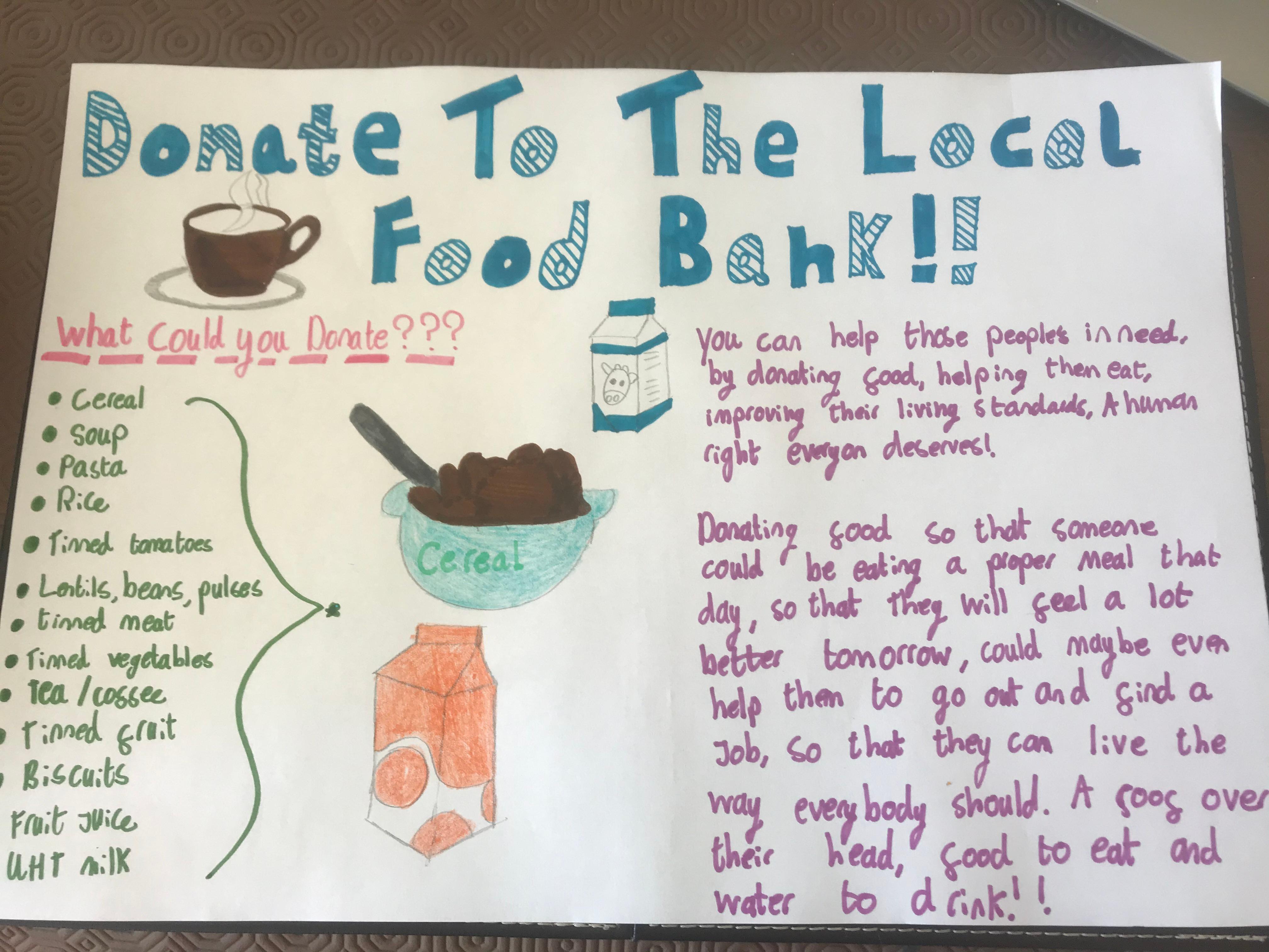 25/06/20 - Donate to Food Banks
