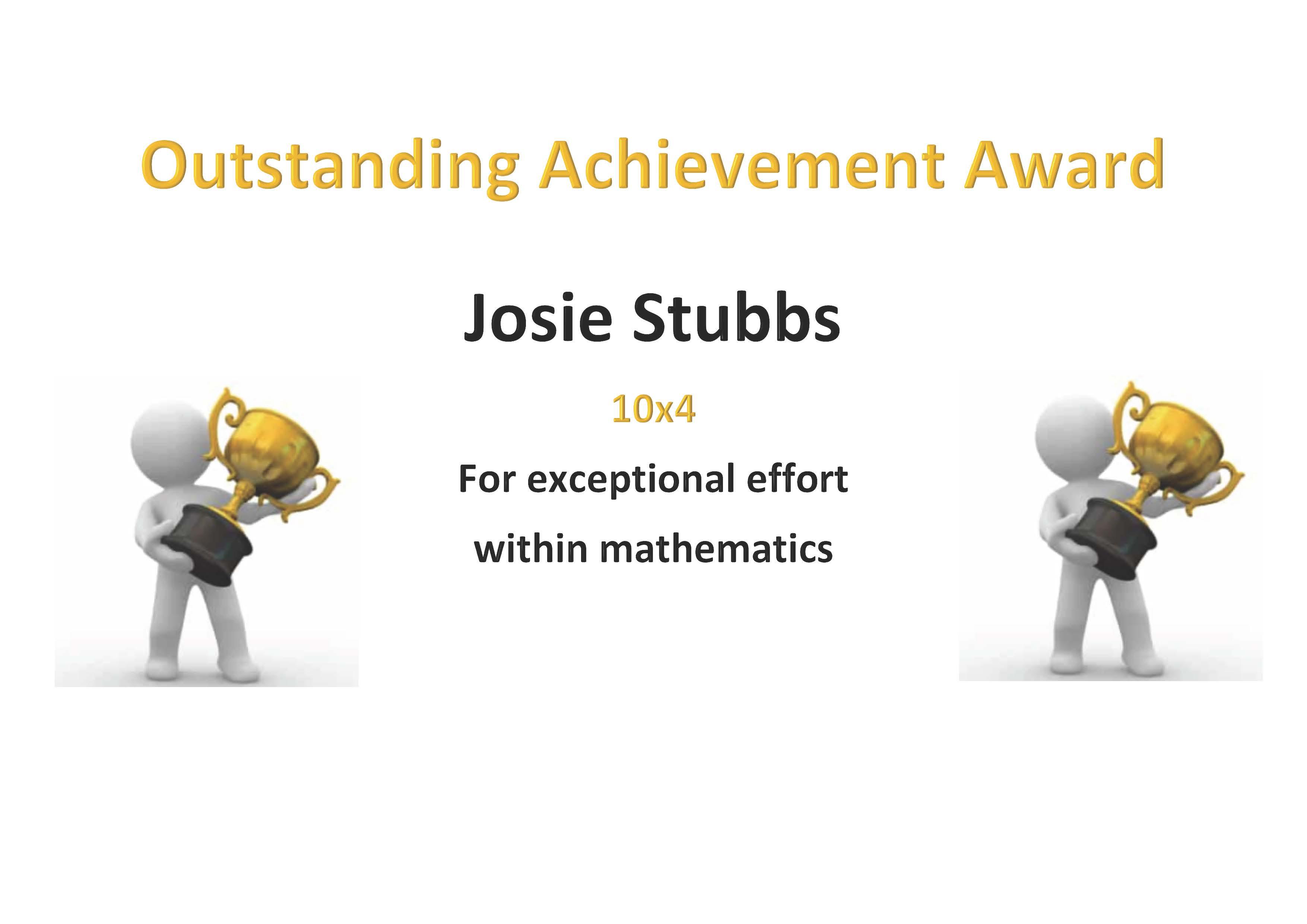 09/05/20 - Outstanding Achievement Award