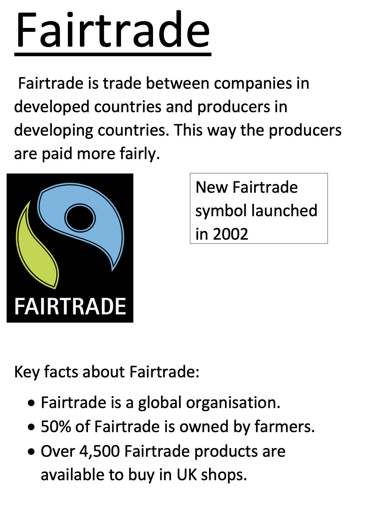 18/06/20 - Fair Trade