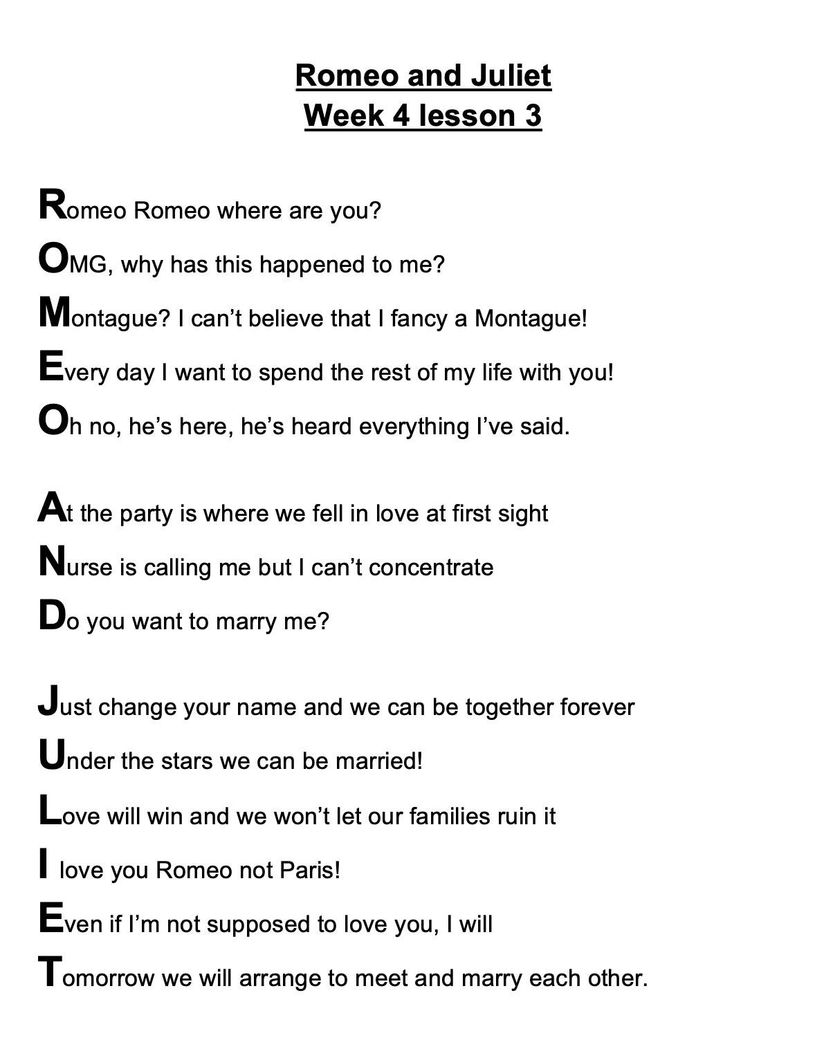 21/05/20 - R&J Poem