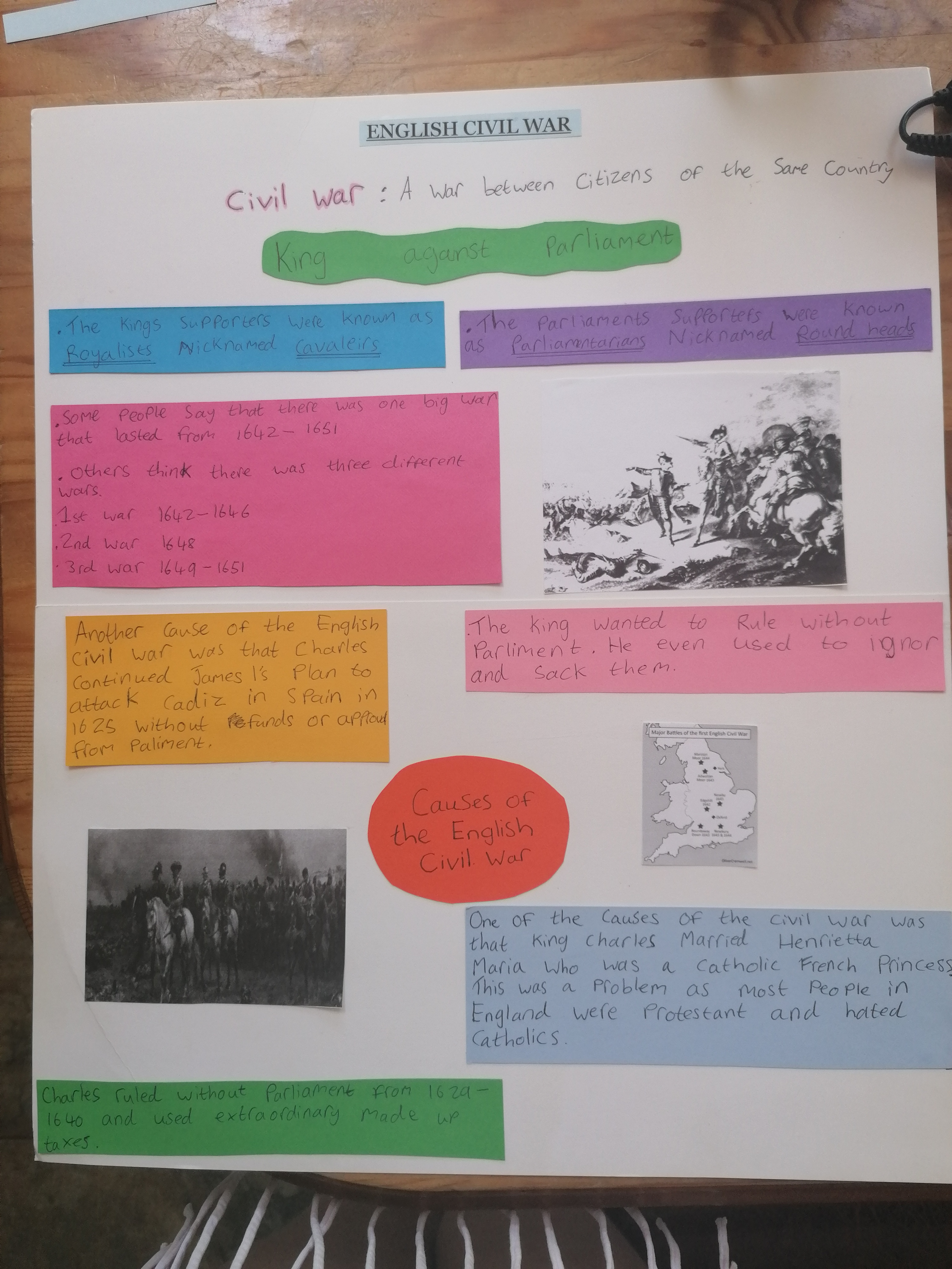 22/05/20 - History Assignment: English Civil War