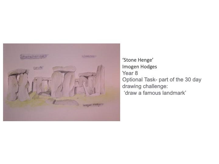 27/04/20 - Stone Henge