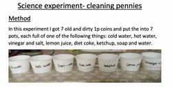 31/05/20 - Pennies Experiment