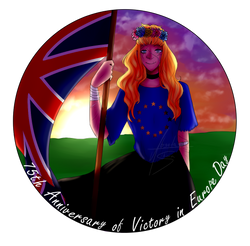 12/05/20 - VE Day logo