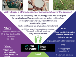 Summer Projects for Young People Aged 11-16