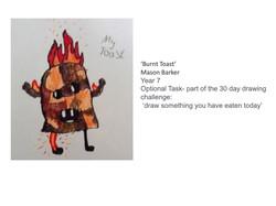 27/04/20 - Burnt Toast