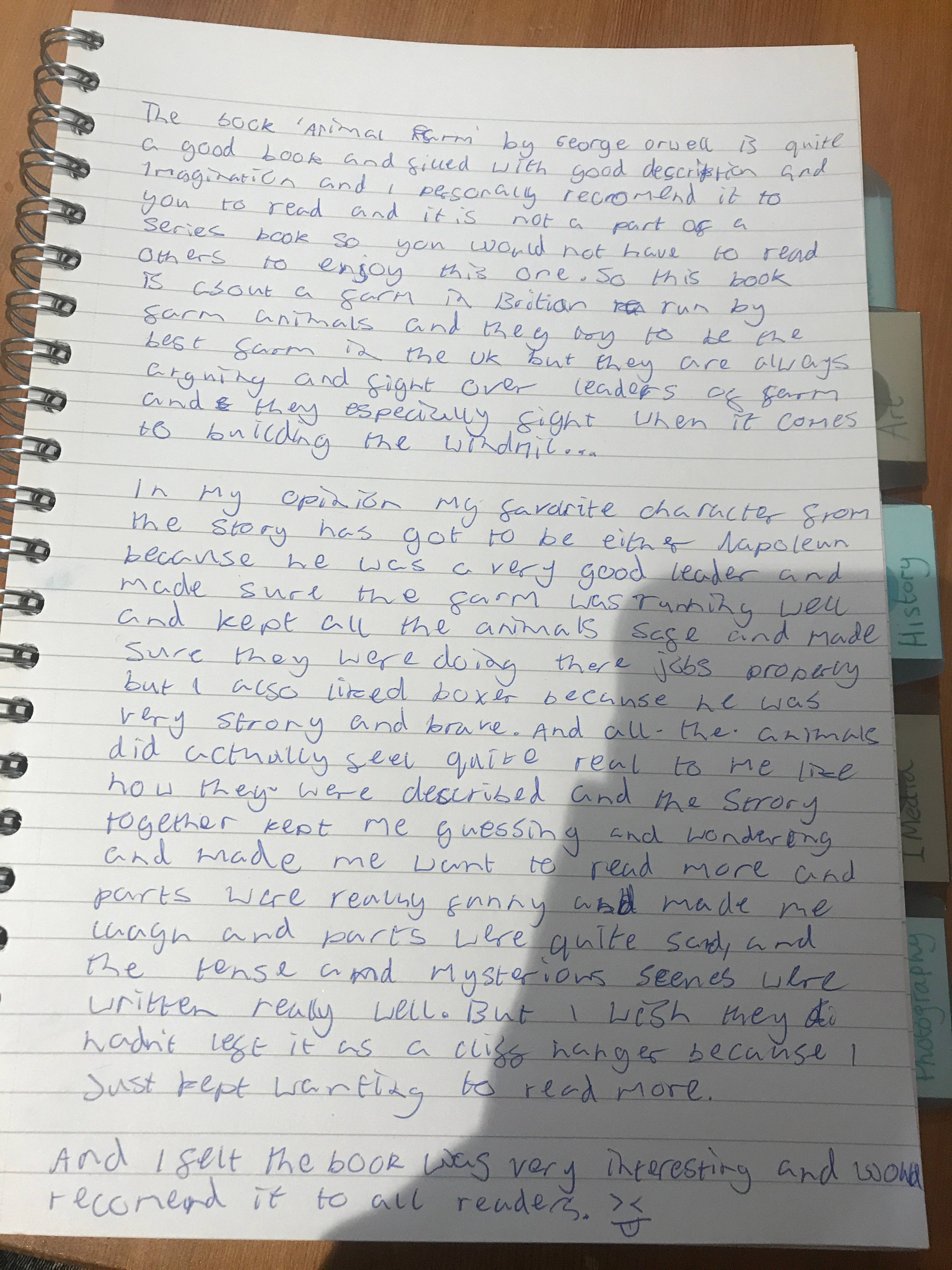 11/06/20 - Review for Animal Farm