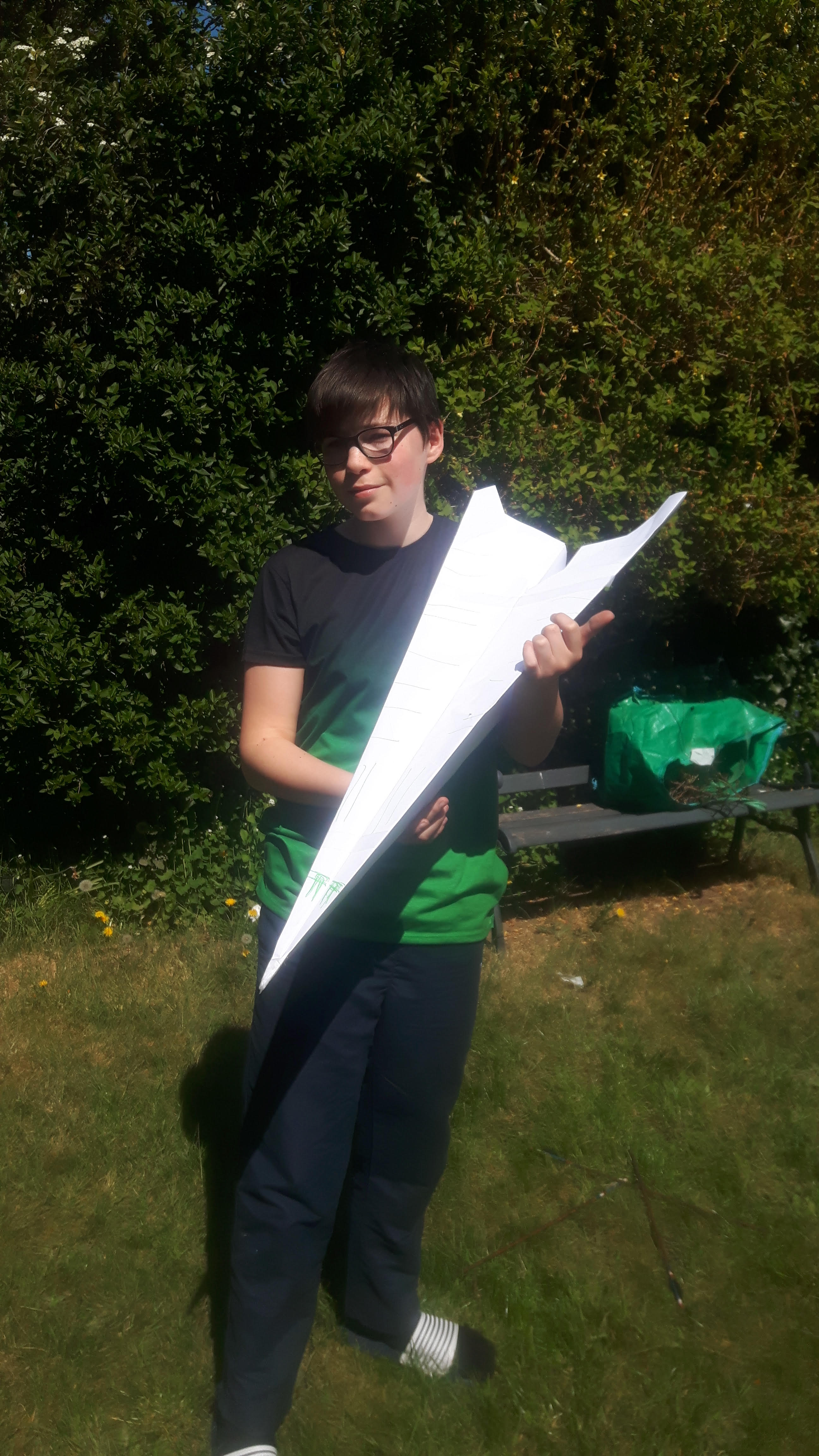 06/05/20 - Science Paper Aeroplane Project