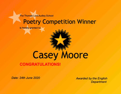 24/06/20 - Poetry Competition