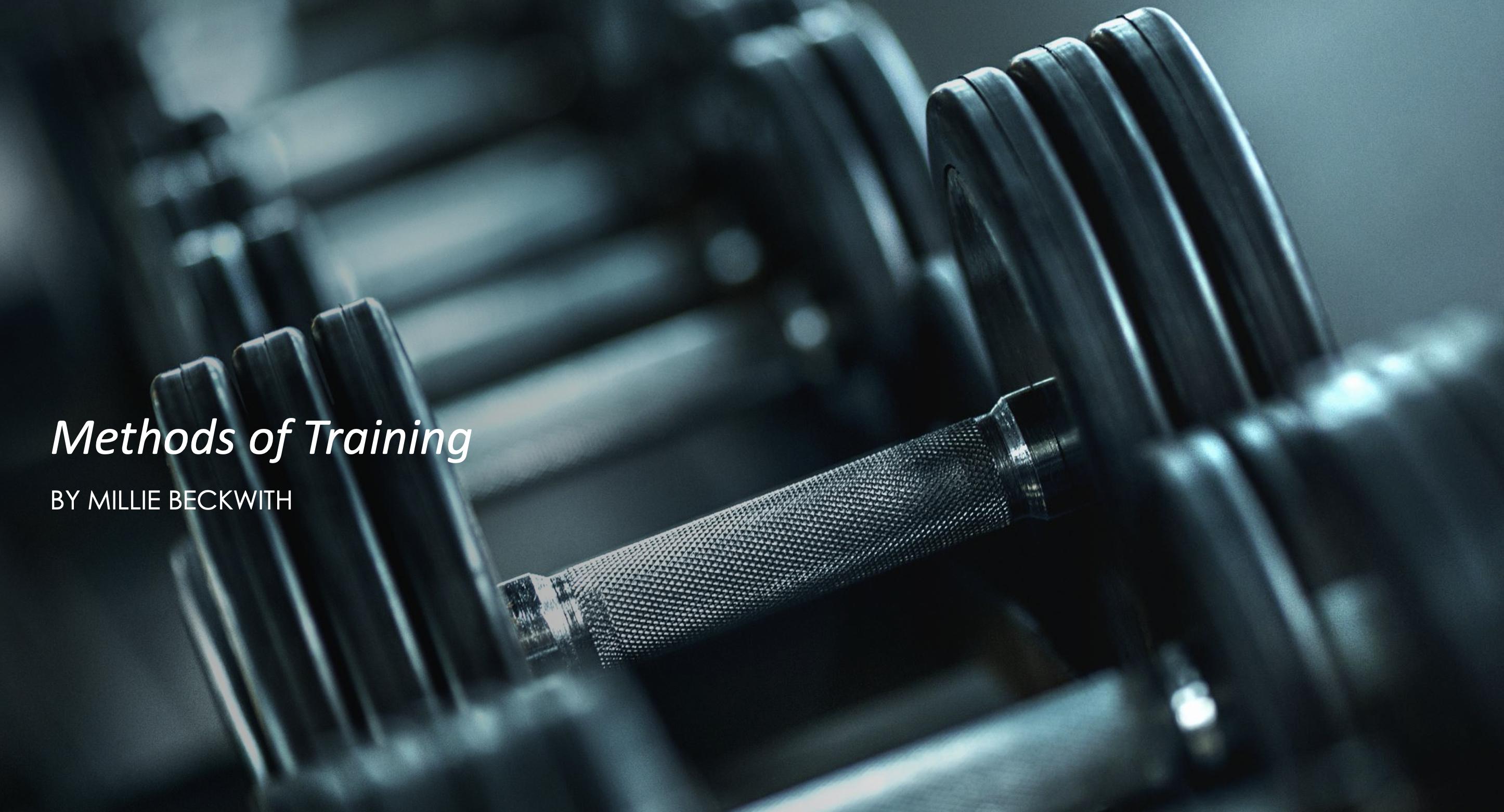 14/05/20 - Methods of Training
