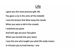 28/04/20 - Life