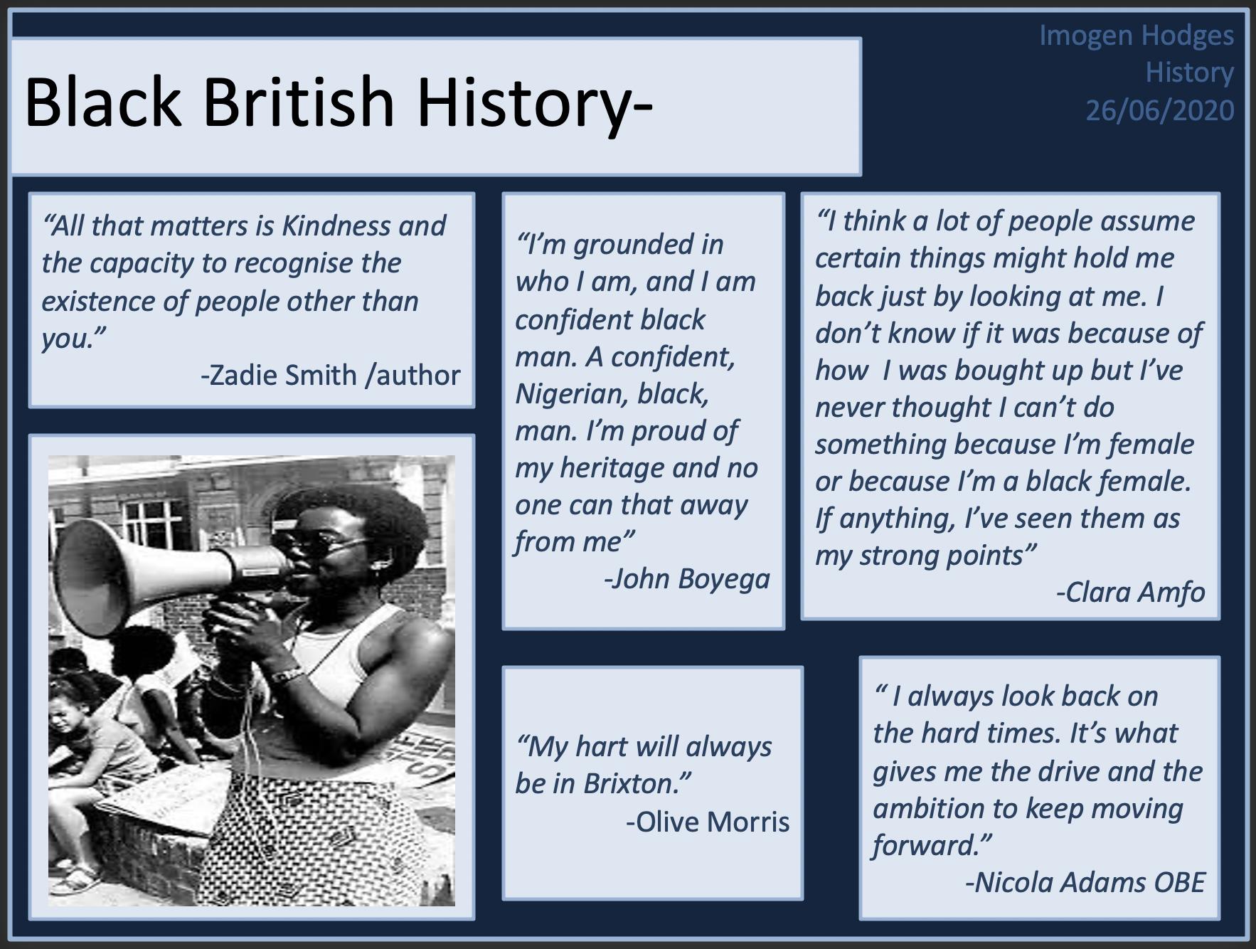 06/07/20 - Black History in Britain