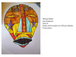 27/04/20 - African Mask
