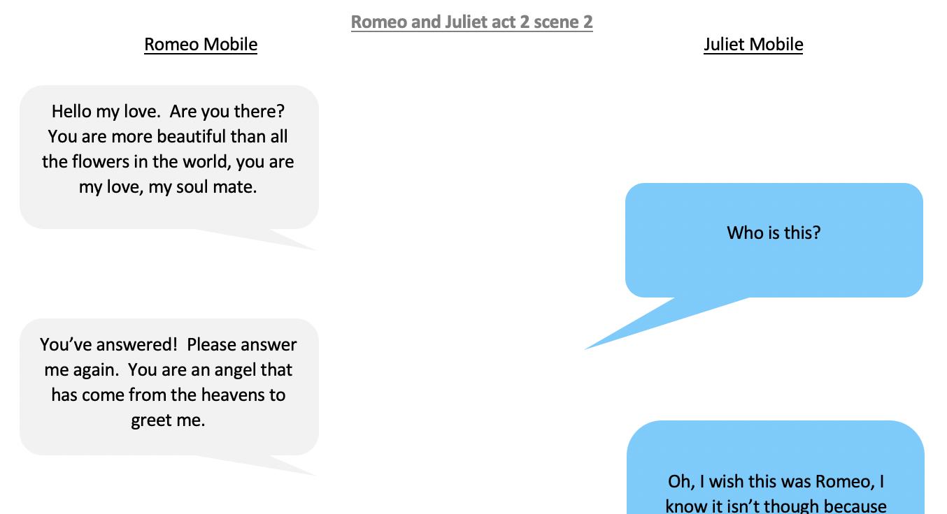 18/06/20 - Romeo and Juliet