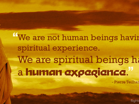 Spiritual Beings having a Human Experience