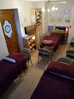 The Reiki Room before lockdown - 3 beds