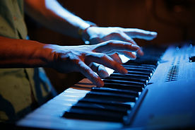 piano player performing
