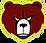 Hammond high school bear head logo