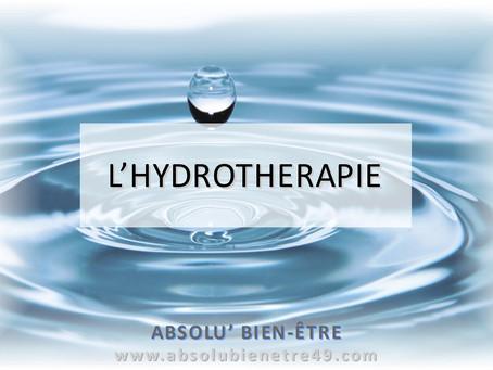 L'hydrothérapie