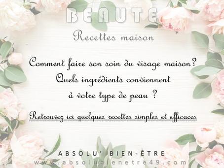 """Beauté """"maison"""""""