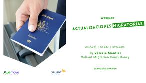 Webinar - Actualizaciones migratorias