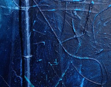 Slut fernis på abstrakt maleri