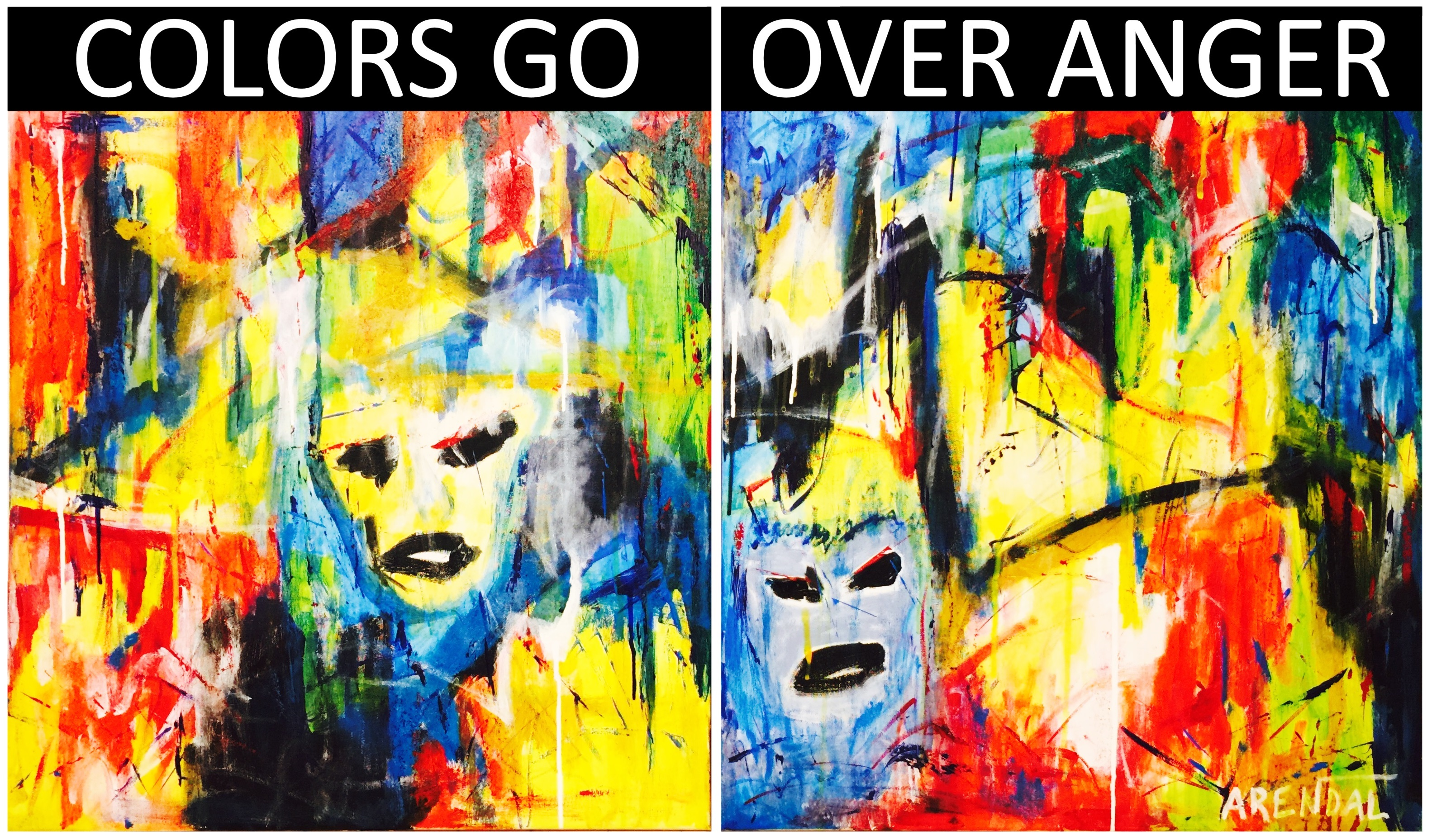 Colors Go Over Anger