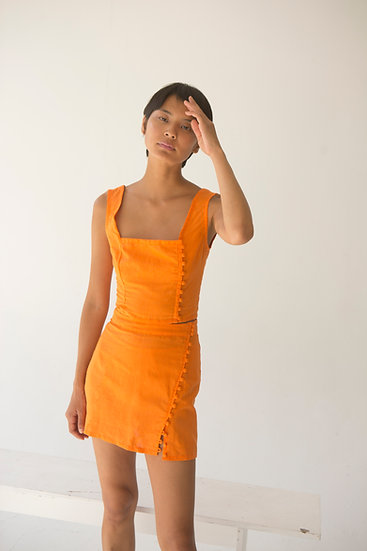 Ainoa Linen Skirt