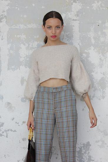 Xenia Mohair Elastano Knit Top