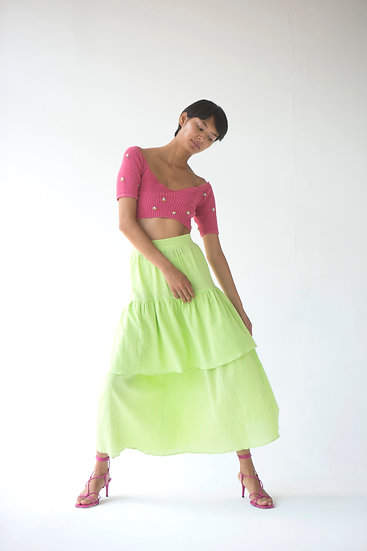 Anush Cotton Skirt