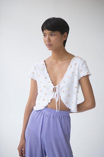 Gaiane Floral Knit Top