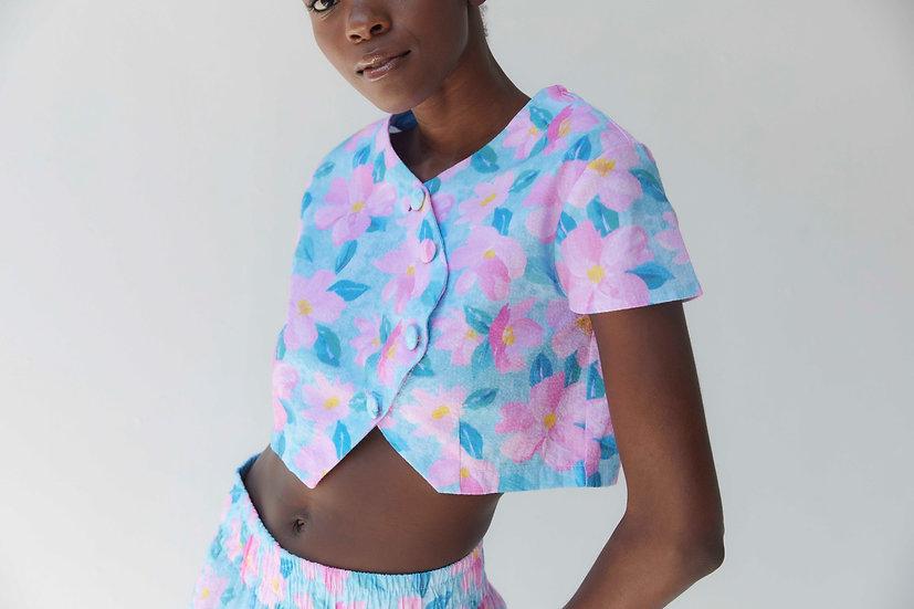 Olena Floral Top