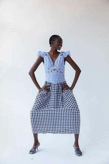Ilena Cloque Dress