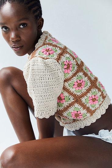 Nuria Crochet Cardigan