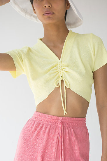 Astrid Pleated Top