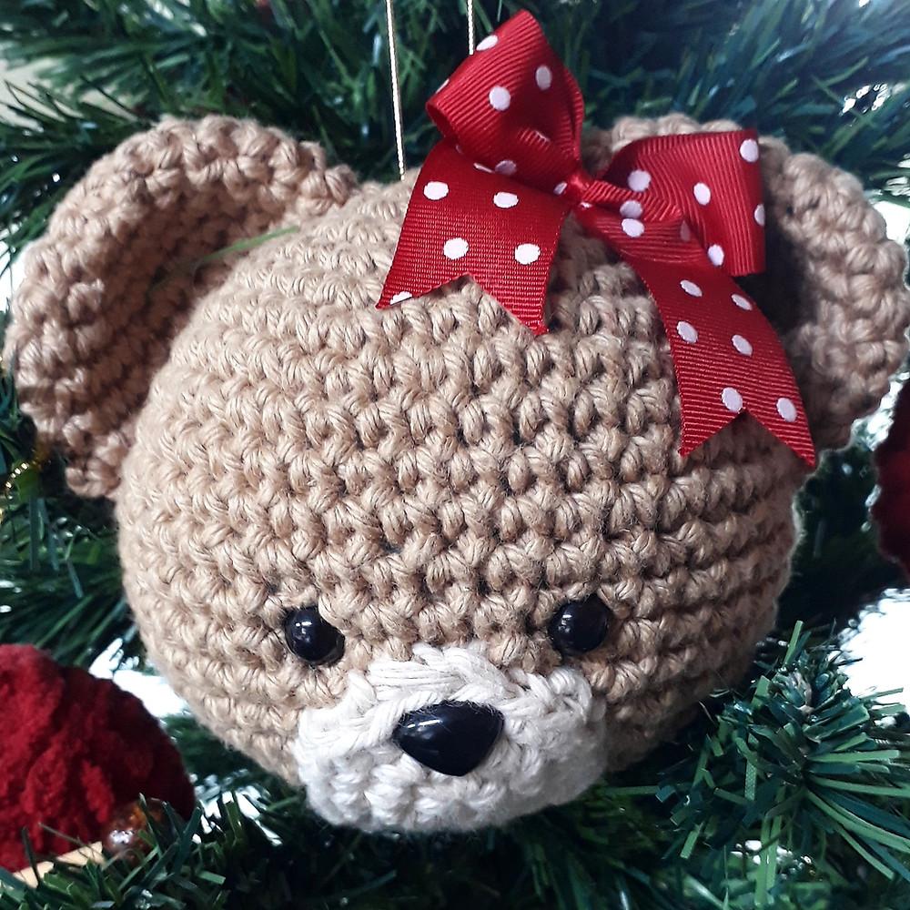 Ursinha de cachecol Amigurumi no Elo7 | ToyArt Amigurumi (A536D9) | 1000x1000