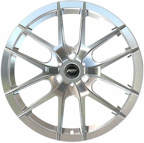 "PPA Wheels ORB 15"" Chrome [sold as set]"
