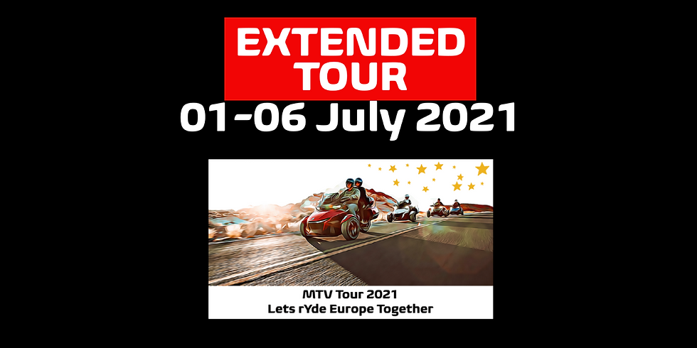 MTV Tour 2021 [EXTENDED Tour] 01-06 July