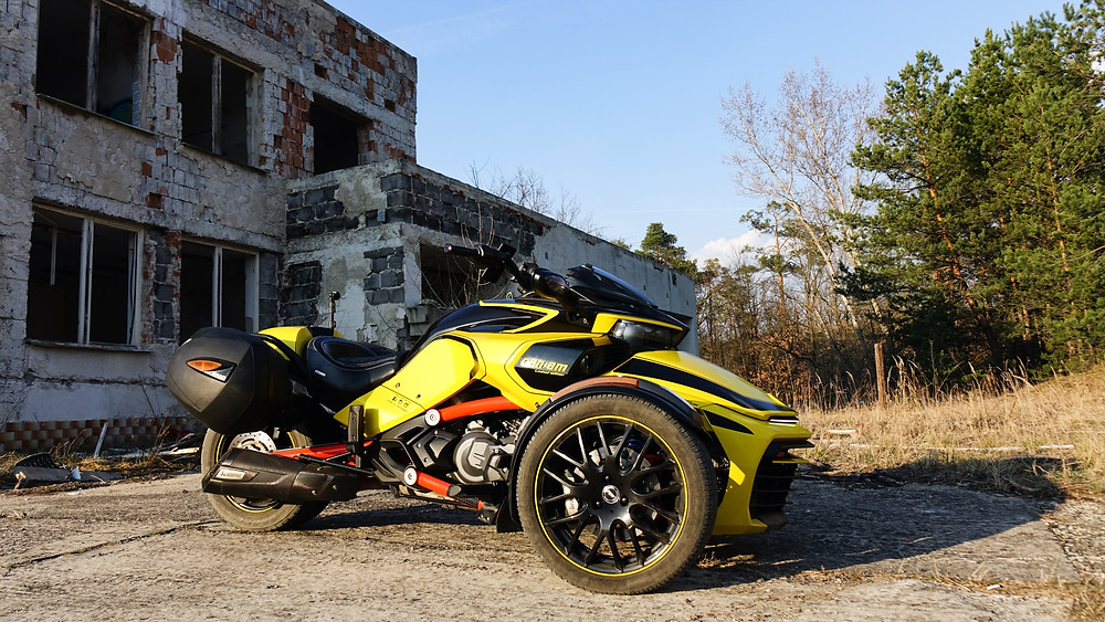 BRP CanAm Spyder F3s profile picture, Shad saddle bags