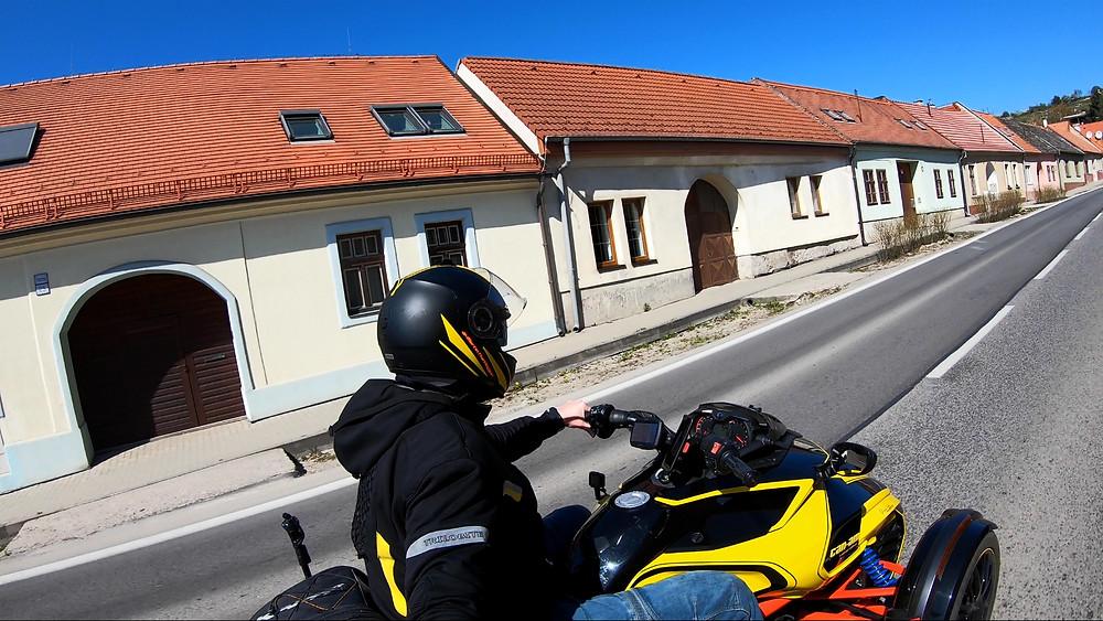 BRP CanAm Spyder F3s in Modra, Slovakia