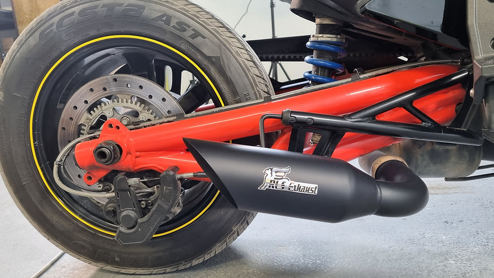 2015-2021 Can-Am Spyder F3 & F3s Punisher Series Exhaust