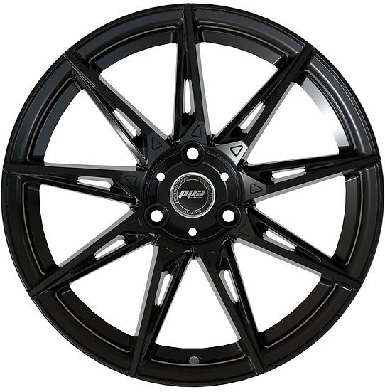 PPA Wheels Widow 15 Black [sold as set]