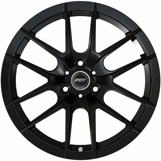 """PPA Wheels ORB 15"""" Black [sold as set]"""