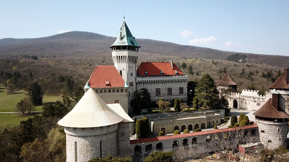 Smolenice Castle in Trnava region, Slovakia