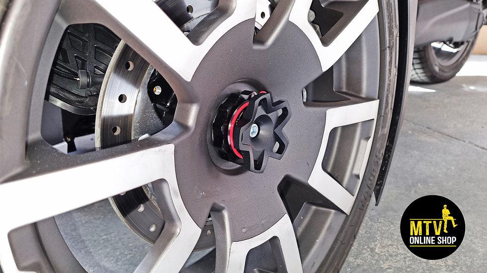 RYKER Nutz Wheel Caps 3pc Set