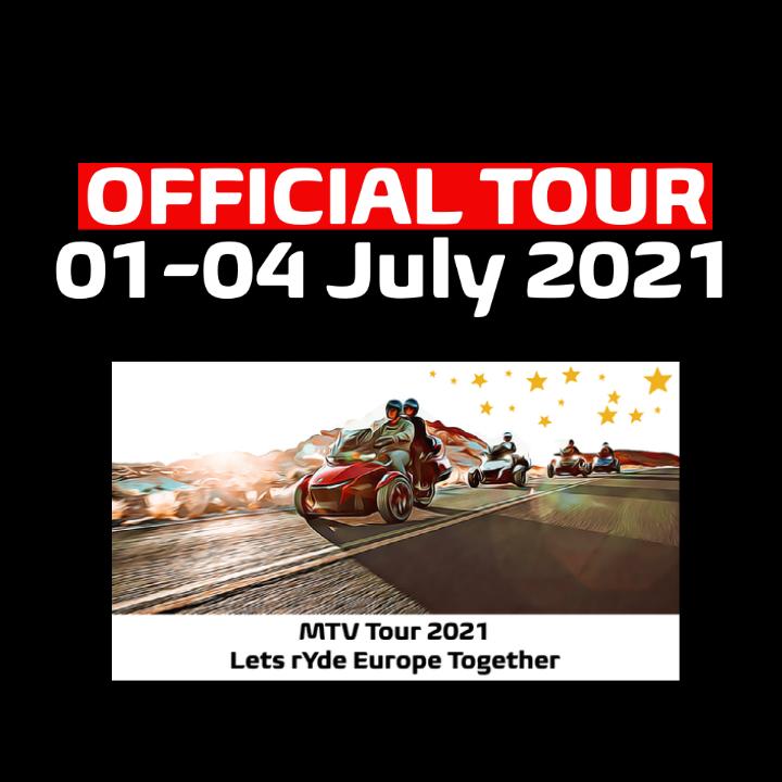 MTV Tour 2021 [Official Tour] 01-04 July