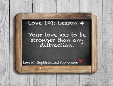 Love 101: Lesson 4