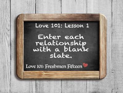 Love 101: Lesson 1
