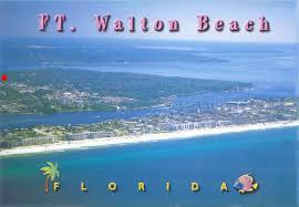 Fort Walton Beach Post Card