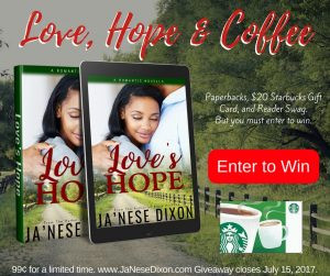 Love's Hope Giveaway